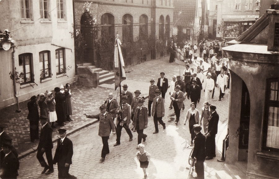 Kappeln - Poststraße (1934)