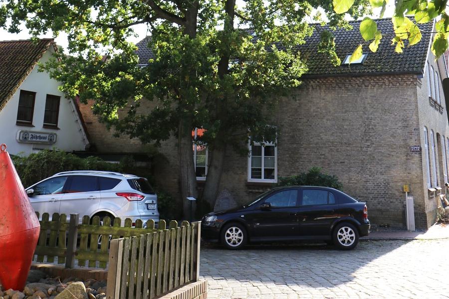 Arnis - Doppeleiche - Foto: Holger Petersen (25.09.2017)