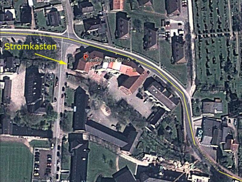Kappeln - Hindenburgstraße - Google-Screenshot von Konrad Reinhardt