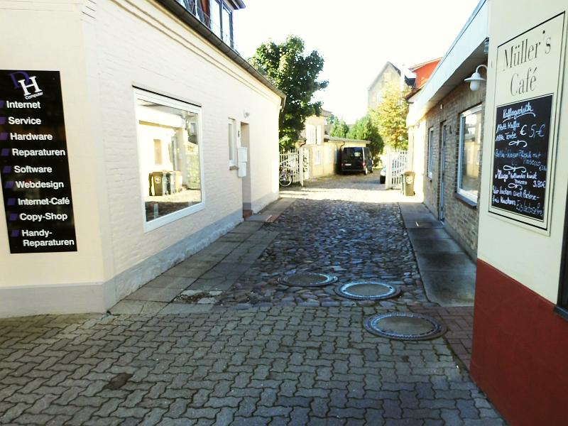 Kappeln - Poststraße - Foto: Michaela Bielke (05.09.2016)