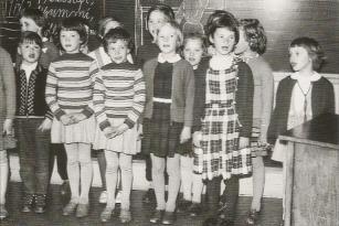 Grundschule Kappeln - Erster Schultag 1959