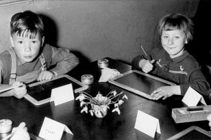 10. April 1956 - Achim und Ingeborg