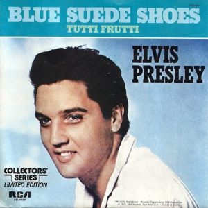 Blue Suede Shoes - Single-Cover (1977)