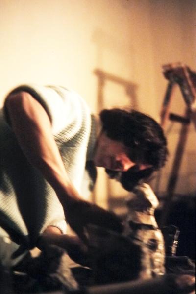 Pappmaché - Foto: Achim Gutzeit (1974)