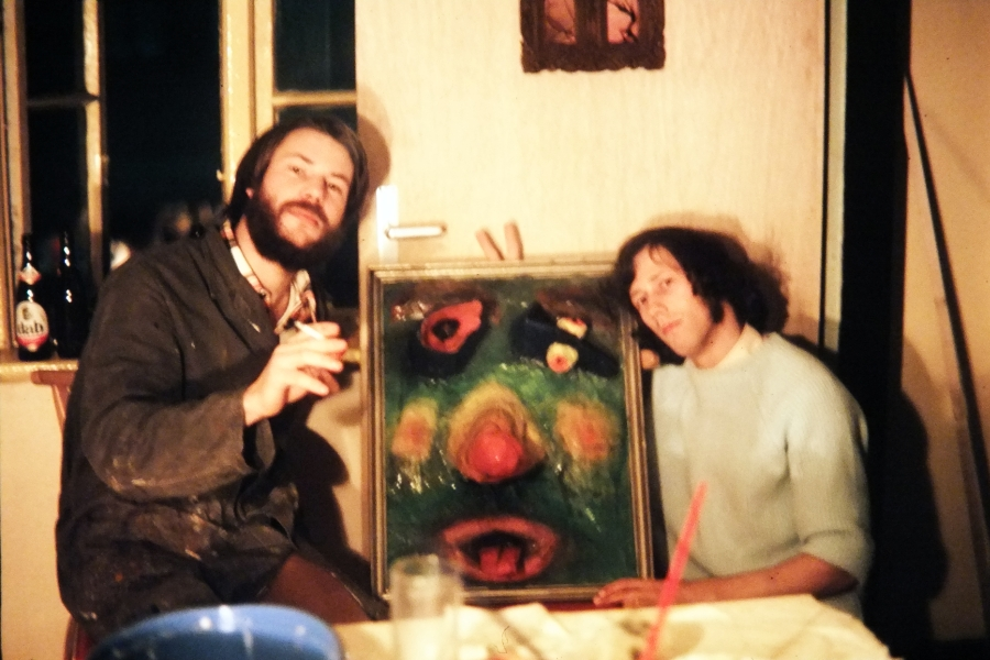 Pappmaché - Foto: Hanna Völker (1974)
