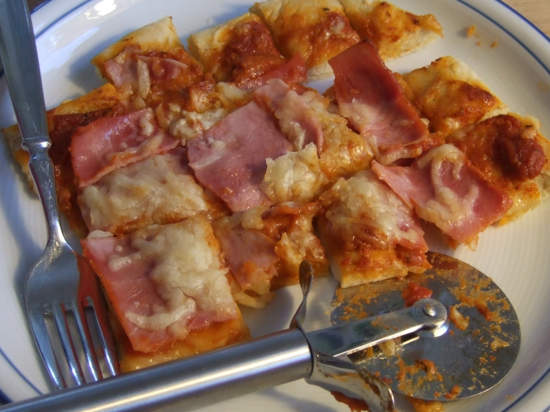 Pizza (Schinken)