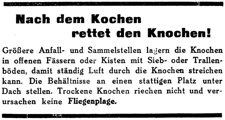 Anzeige 40er-Jahre - Kreisblatt Flensburg