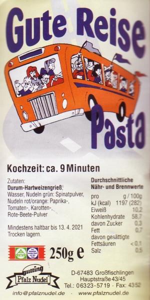 Gute Reise Pasta