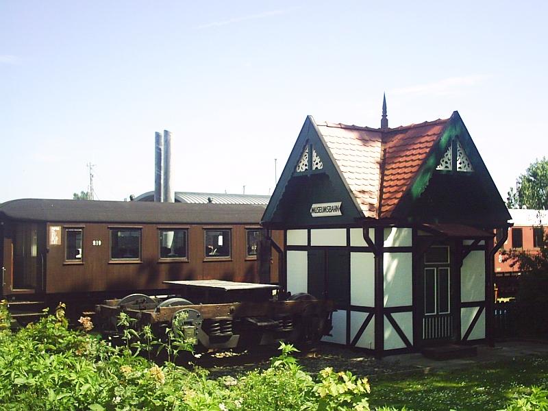 Kappeln - Fahrkartenhäuschen - Foto: Dirk H. Rahn (2012)