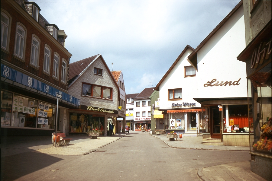 Kappeln - Schmiedestraße - Foto: Fritz Reinhardt (1974)
