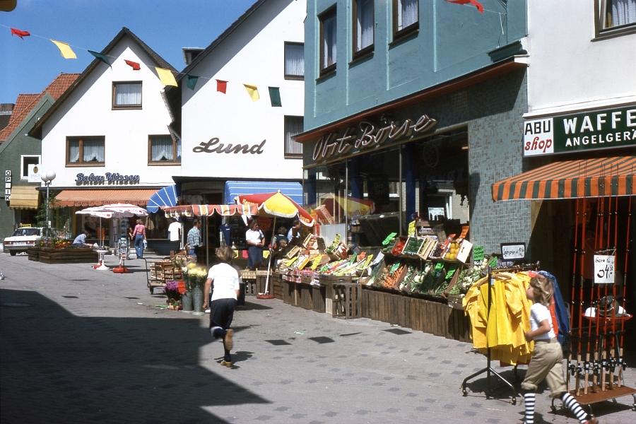 Kappeln - Schmiedestraße - Foto: Fritz Reinhardt (1977)