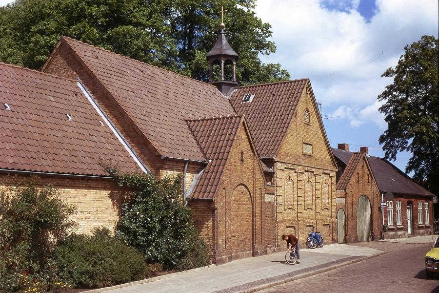 Kappeln - Friedhofskapelle - Foto: Fritz Reinhardt (1974)