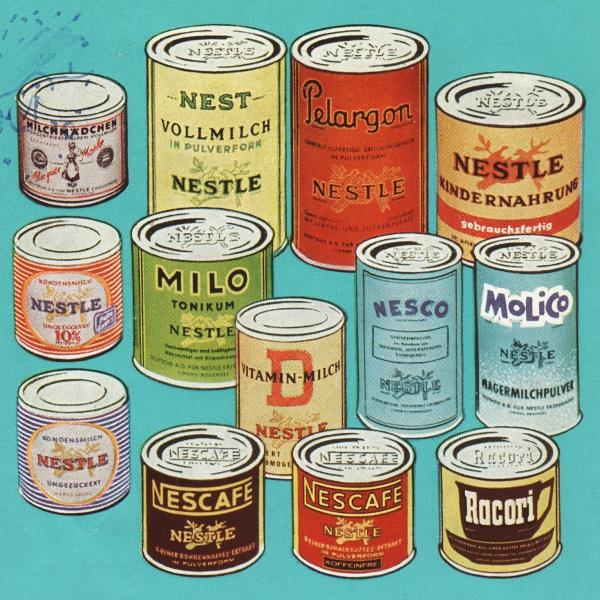 Nestle-Produkte (50er-Jahre)
