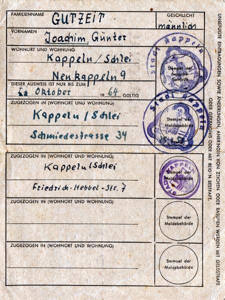 Personalausweis 1949