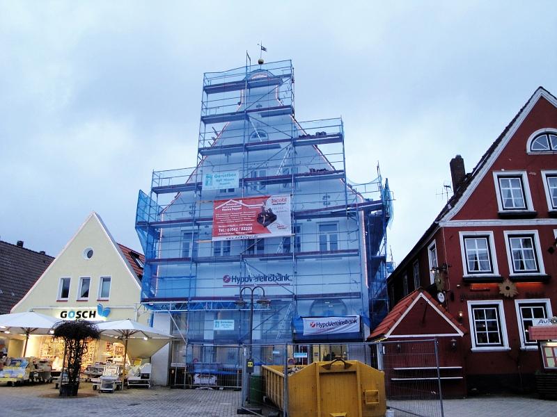 Kappeln - Rathausmarkt - Foto: Michaela Bielke (2013)