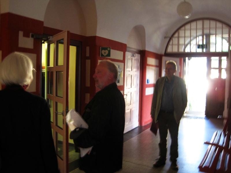 SZR-Treffen 2017 - Alte KHS - Eingang Lehrerzimmer