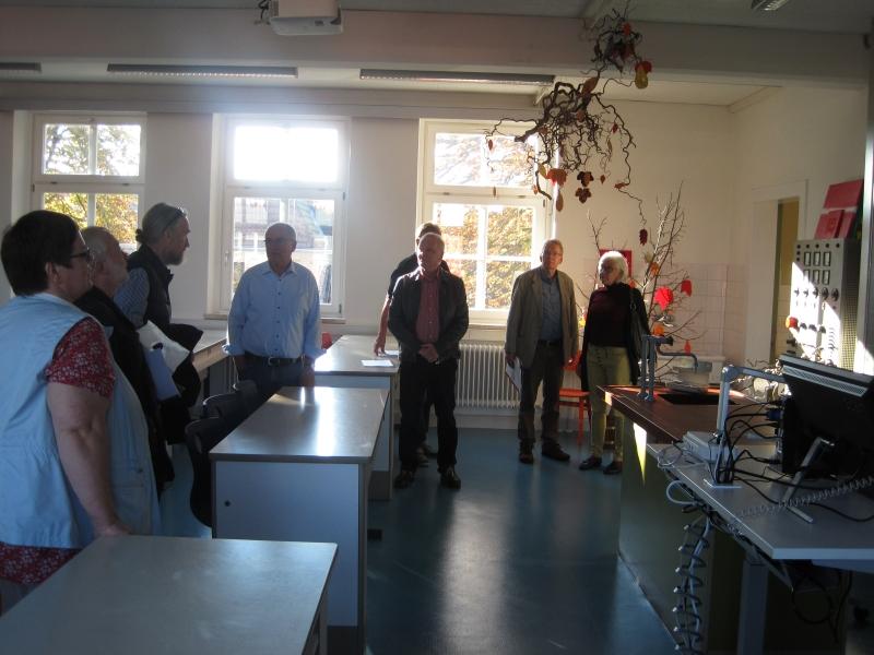 SZR-Treffen 2017 - Alte KHS - Physikraum