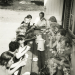 1968 - Bistensee - Abendessen