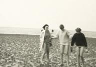 1968 - St. Peter-Ording - Buttpetten im Watt