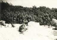 1968 - St. Peter-Ording - in den Dünen