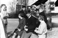 """Berlin 1968 - """"Die Liegende"""" (Henry Moore, 1956)"""