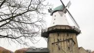 © NDR/Bernd Schrader, honorarfrei - Die Alte Mühle Amanda in Kappeln, mit 30 m die höchste Mühle in Schleswig-Holstein.