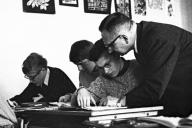 Klaus-Harms-Schule - Oberstudienrat Fritz Reinhardt (1968) - Foto: Manfred Rakoschek