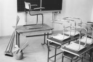 Klaus-Harms-Schule - Klassenraum - Foto: Manfred Rakoschek (1968)
