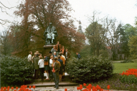 Realschule Kappeln - Deutschlandfahrt 1969 - Schlosspark Detmold