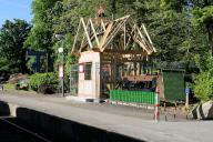Kappeln - Fahrkartenhäuschen - Foto: Eckhard Schmidt (04.06.2010)