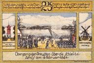 Kappeln - Notgeld 1920 - 25 Pfennig (Rückseite)