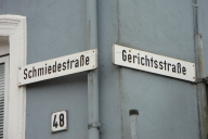 Kappeln - Schmiedestraße/Gerichtsstraße - Foto: Michaela Bielke (2012)