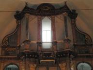 Kappeln - Ausgebaute Nikolai-Orgel - Foto: Michaela Bielke (2013)