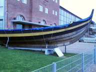 "Kappeln - Wikingerschiff ""Haithabu"" - Foto: Michaela Bielke (01.02.13)"