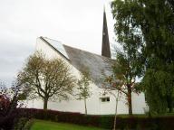 Auferstehungskirche Ellenberg -  Foto: Michaela Bielke (19.08.2013)