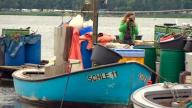 © NDR, honorarfrei - Immer auf der Suche nach neuen Drehorten und Mitspielern. Komparsenfischerin Kirsten Schultz.