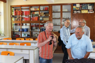 Klaus-Harms-Schule - Physik-Raum - Abi '69 - Klassentreffen 2014 - Foto: Holger Detlefsen