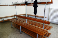 Klaus-Harms-Schule - Umkleideraum - Abi '69 - Klassentreffen 2014 - Foto: Eckehard Tebbe