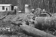 Kappeln - Brunnenbohrung - Foto: Manfred Rakoschek (1968)