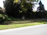 Gedenkstein in Mehlby - Foto: Michaela Bielke (17.05.2015)