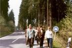 Realschule Kappeln - Deutschlandfahrt 1969 - Teuteburger Wald