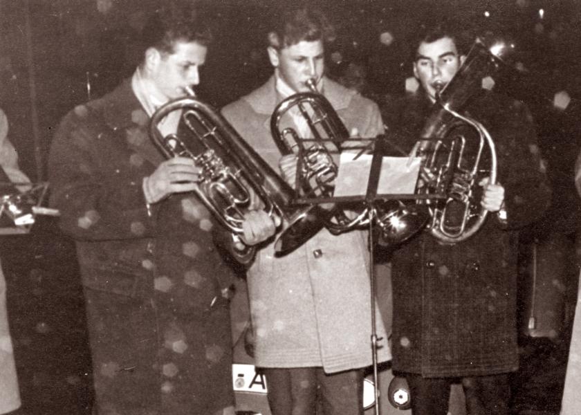 Kappeln - Posaunenchor - 24.12.1958