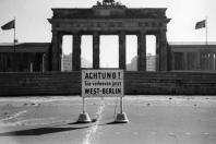 Berlin 1968 - Brandenburger Tor