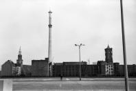Ost-Berlin 1968 - St. Marienkirche, Fernsehturm