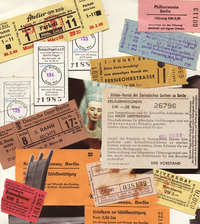 Berlin 1968 - Collage: Manfred Rakoschek