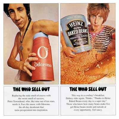 LP-Cover - The Who Sell Out