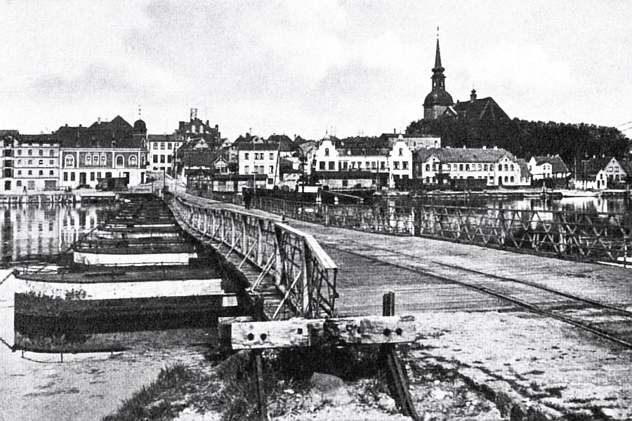 Kappeln - Pontonbrücke