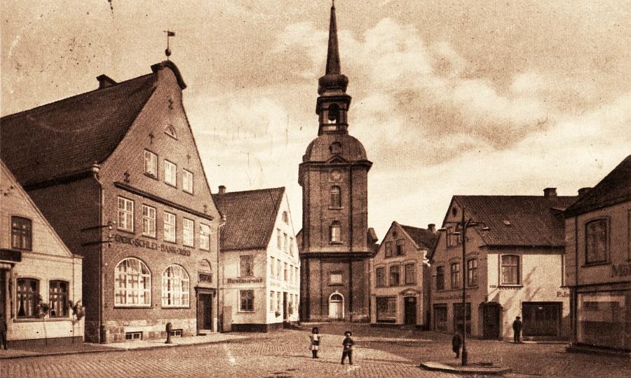 Kappeln - Rathausmarkt (1914)