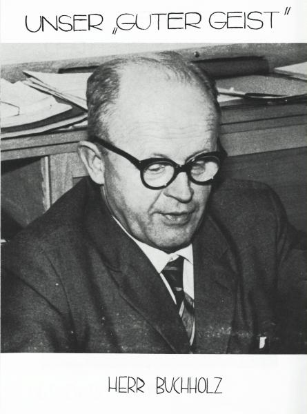 Klaus-Harms-Schule - Herr Buchholz (1964)