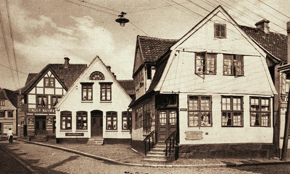 Kappeln - Schmiedestraße (um 1930)